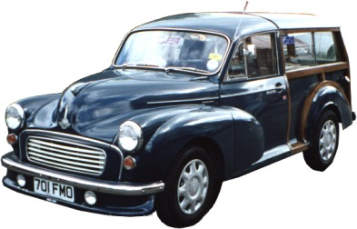 The fantastic job we did to restore this morris minor